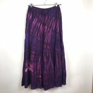 Cali Kind Clothing Purple Tie Dye Hippie Pants
